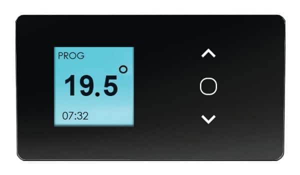 elektromos konvektorok termosztátja, vezérlése