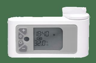 Oleron törölközőszárító radiátor termosztát