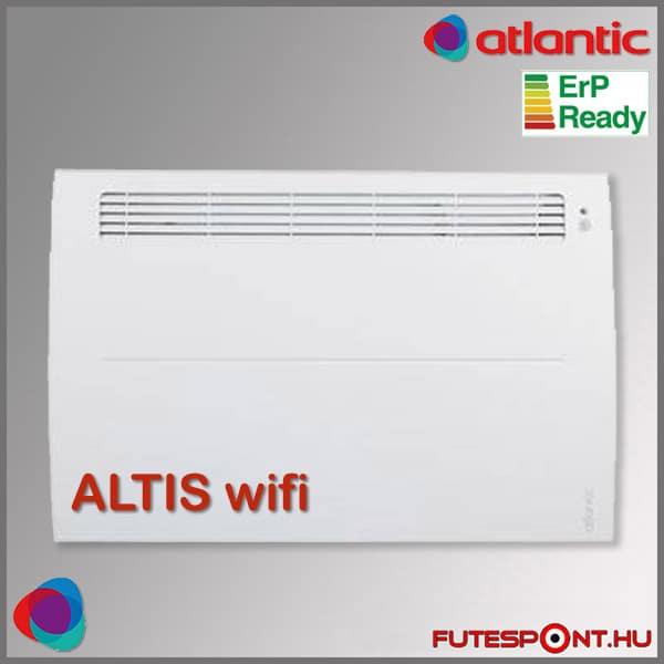 Legjobb elektromos fűtés, Atlantic Altis Ecoboost wifi fűtőpanel
