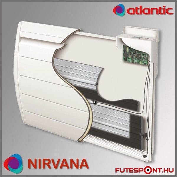 atlantic nirvana villanyradiátor